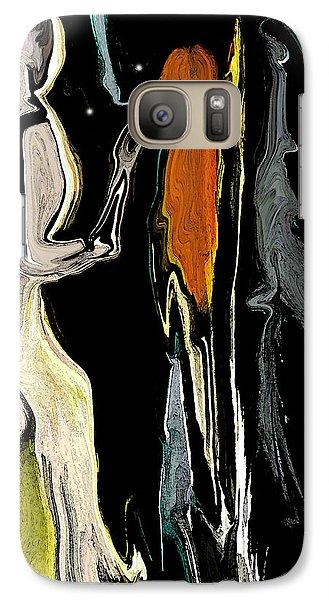 Galaxy Case featuring the digital art Alien Women In The Sky by Sherri  Of Palm Springs