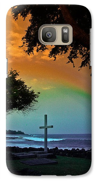 Galaxy Case featuring the photograph Alii Cross by Randy Sylvia
