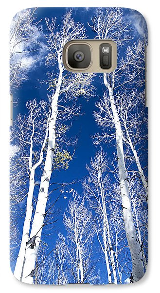 Galaxy Case featuring the photograph All But Gone by The Forests Edge Photography - Diane Sandoval