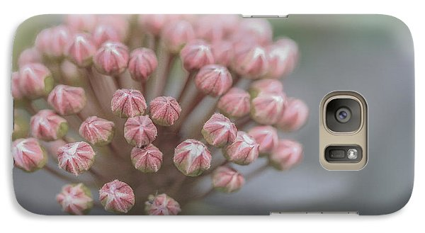 Galaxy Case featuring the photograph All Dressed In Pink And White by Jacqui Boonstra