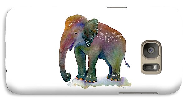 Elephant Galaxy S7 Case - All Dressed Up by Amy Kirkpatrick