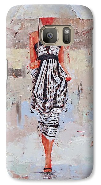 All Dressed Up Galaxy Case by Laura Lee Zanghetti