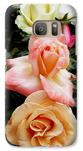 Galaxy Case featuring the photograph All In A Row by James C Thomas