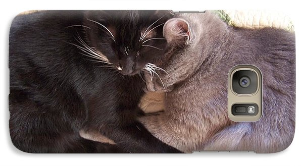 Galaxy Case featuring the photograph All Love Is Good by Christine Drake