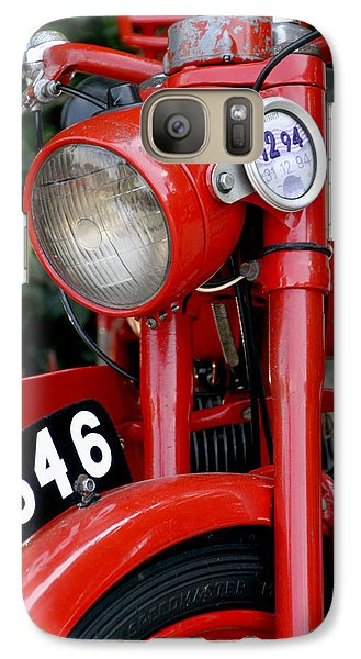 All Original English Motorcycle Galaxy S7 Case