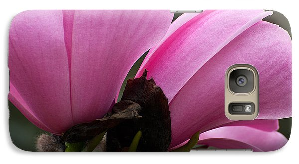 Galaxy Case featuring the photograph Pink Magnolia by Sabine Edrissi