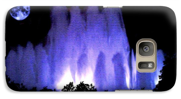 Galaxy Case featuring the photograph All Souls Day Do You See Them by Sherri  Of Palm Springs
