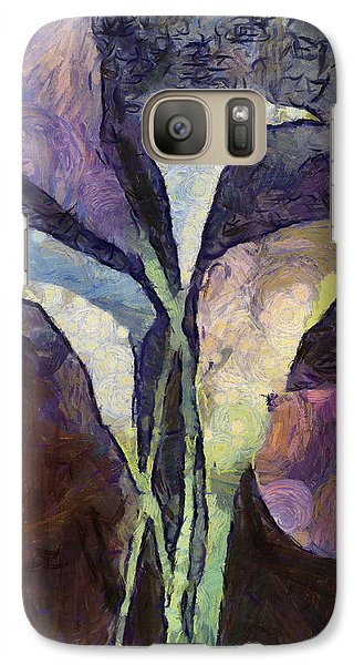 Galaxy Case featuring the painting All The Sadness by Joe Misrasi