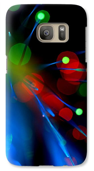 Galaxy Case featuring the photograph All Through The Night by Dazzle Zazz