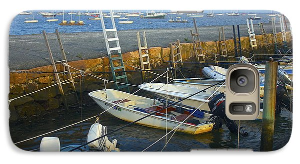 Galaxy Case featuring the photograph All Tied Up In Mattapoisett by Amazing Jules