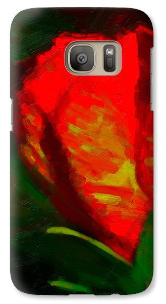 Galaxy Case featuring the painting All Went Wrong by Joe Misrasi