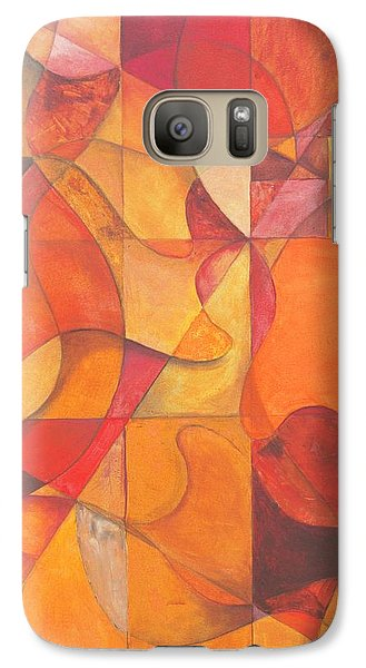 Galaxy Case featuring the painting All You Need Is Faith To Hear by Rick Ahlvers