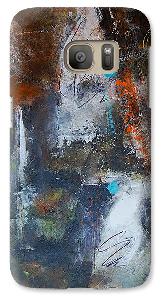 Galaxy Case featuring the painting Allegory by Ron Stephens