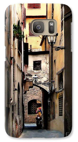 Galaxy Case featuring the photograph Alley In Florence 1 by Jennie Breeze