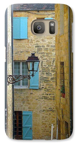 Galaxy Case featuring the photograph Alleys Of Sarlat II by Suzanne Oesterling