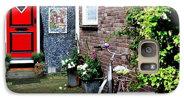 Galaxy Case featuring the photograph Alleyway In Dutch Village by Joe  Ng