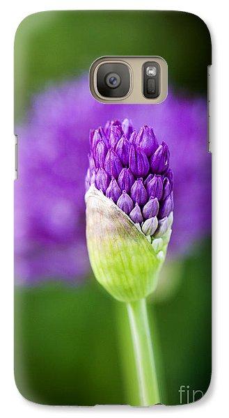 Allium Hollandicum Purple Sensation Galaxy S7 Case