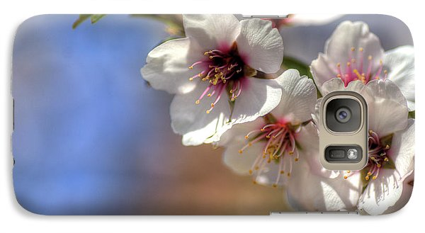 Galaxy Case featuring the photograph Almond Blossoms by Jim and Emily Bush