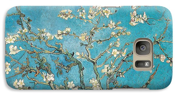 Almond Branches In Bloom Galaxy Case by Vincent van Gogh