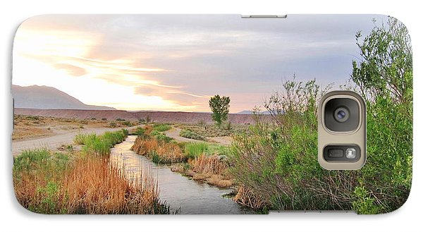 Galaxy Case featuring the photograph Almost Evening by Marilyn Diaz