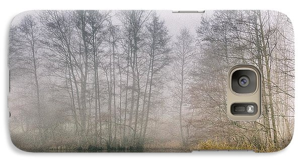 Galaxy Case featuring the photograph Almost Frozen Almost Winter by Maciej Markiewicz