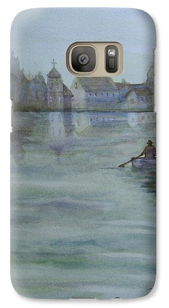 Galaxy Case featuring the painting Almost Home by Jan Cipolla