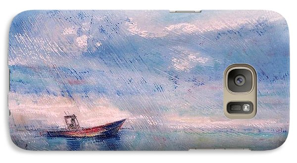 Galaxy Case featuring the painting Almost Home by Mary Lynne Powers