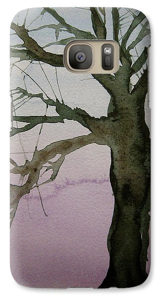 Galaxy Case featuring the painting Almost Spring by Beverley Harper Tinsley