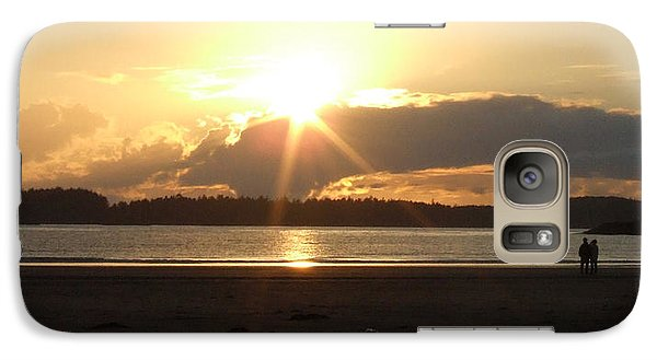 Galaxy Case featuring the photograph Almost Sundown by Mark Alan Perry