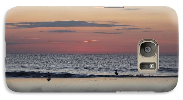 Galaxy Case featuring the photograph Almost Sunrise by Robert Banach