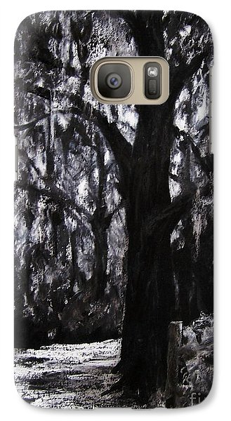 Galaxy Case featuring the drawing Almost There by Mary Lynne Powers
