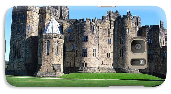 Galaxy Case featuring the photograph Alnwick Castle Castle Alnwick Northumberland by Paul Fearn