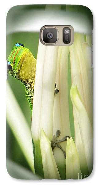 Galaxy Case featuring the photograph Aloha by Ellen Cotton