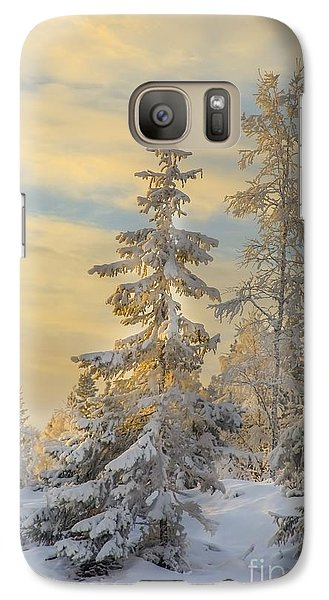 Galaxy Case featuring the photograph Alone But Strong by Rose-Maries Pictures
