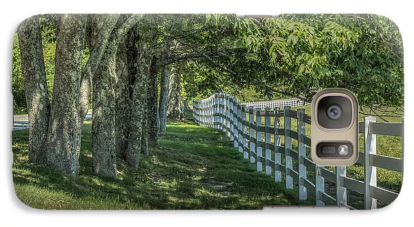 Galaxy Case featuring the photograph Along A Country Road by Jane Luxton