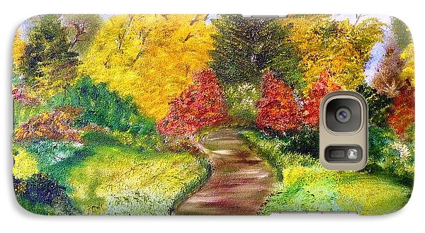 Galaxy Case featuring the painting Along The Shunga Trail by The GYPSY And DEBBIE