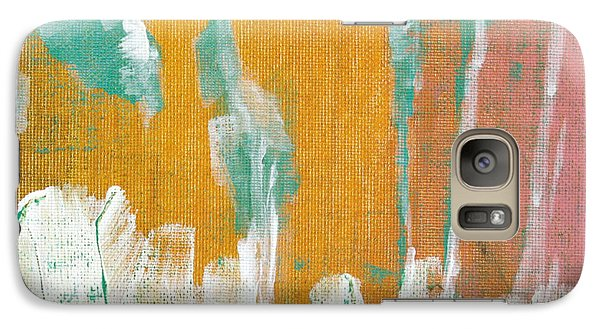 Galaxy Case featuring the painting Along The White Picket Fence C2013 by Paul Ashby