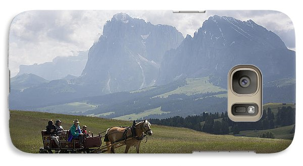 Galaxy Case featuring the photograph Alpe Di Siusi by Wade Aiken