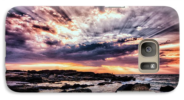 Galaxy Case featuring the photograph Alpha And Omega by John Swartz