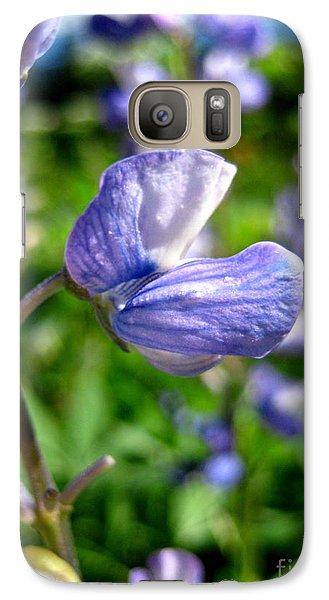 Galaxy Case featuring the photograph Alpine Lupine by Kathy Bassett