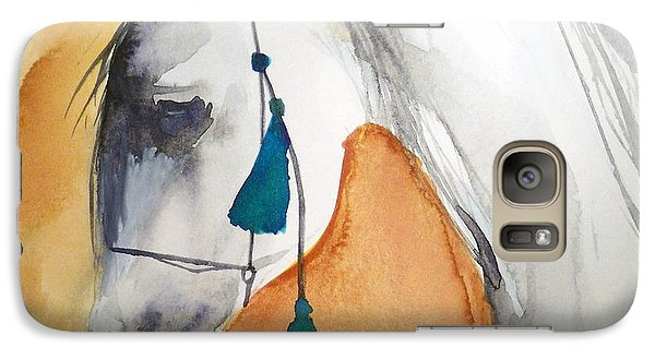 Galaxy Case featuring the painting Altair by Ed  Heaton