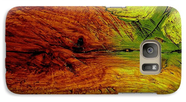 Galaxy Case featuring the digital art Alteration  by Delona Seserman