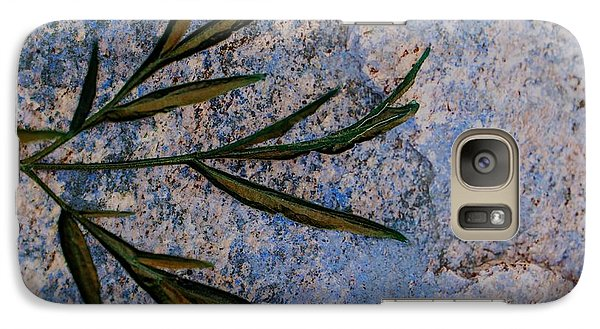 Galaxy Case featuring the photograph Altered State by Judy Wolinsky