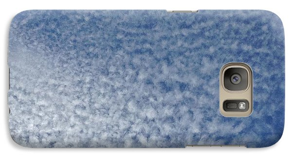 Galaxy Case featuring the photograph Altocumulus Clouds by Jason Williamson