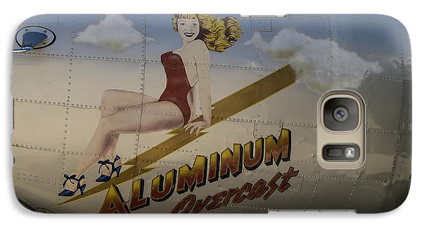 Galaxy Case featuring the photograph Aluminum Overcast  by Wayne Meyer