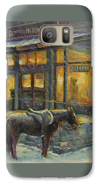 Galaxy Case featuring the painting Always Open by Donna Tucker