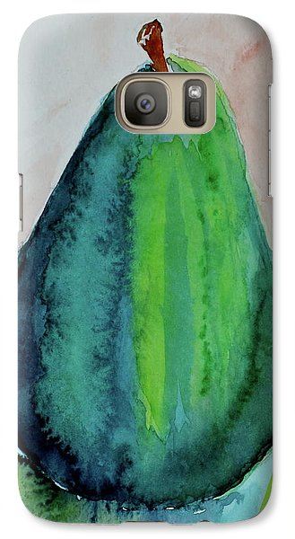 Galaxy Case featuring the painting Am I Blue by Beverley Harper Tinsley