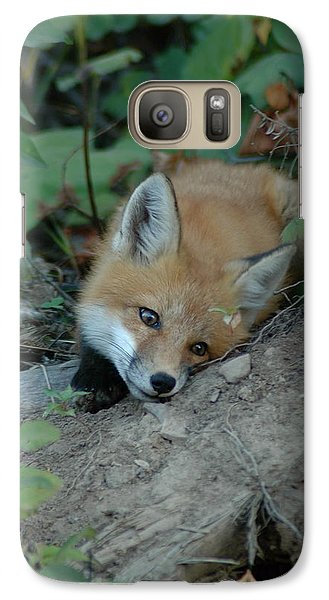 Galaxy Case featuring the photograph Am I Cute by Sandra Updyke