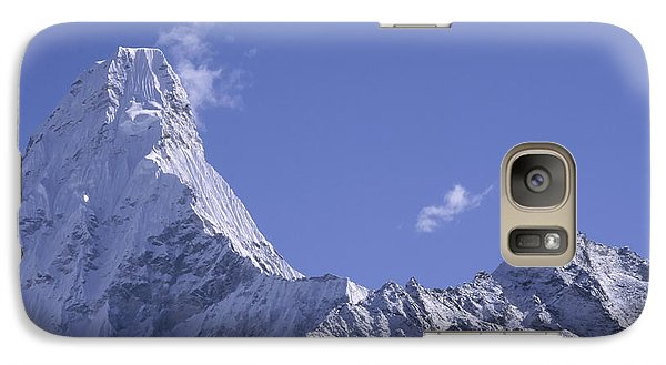Galaxy Case featuring the photograph Ama Dablam Nepal by Rudi Prott