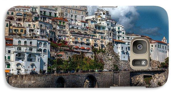 Galaxy Case featuring the photograph Amalfi Coast by Uri Baruch